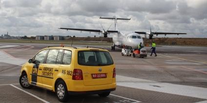 Indenrigsfly fra Cimber Air / SAS. Terminal 1 - Kastrup