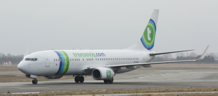 Transavia Boeing 737 i Kastrup